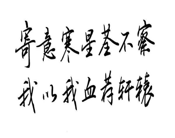 """""""寄意寒星荃不察,我以我血荐轩辕""""是什么意思?"""