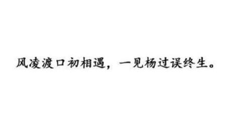 """""""一见杨过误终身,一见郭襄误百年""""是什么意思?"""