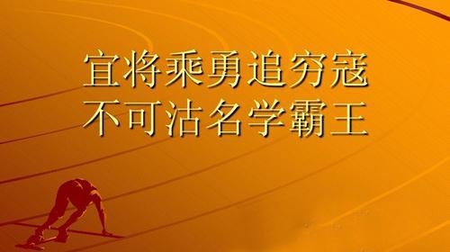 """""""宜将剩勇追穷寇,不可沽名学霸王""""是什么意思?"""