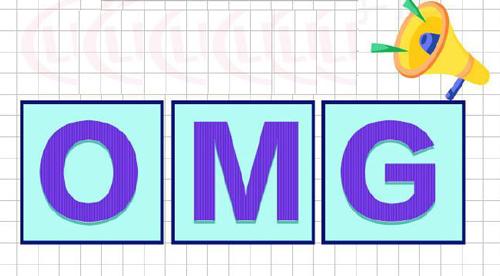 """OMG""是什么意思?"