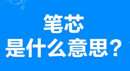 """【网络用语】""""笔芯""""是什么意思?"""