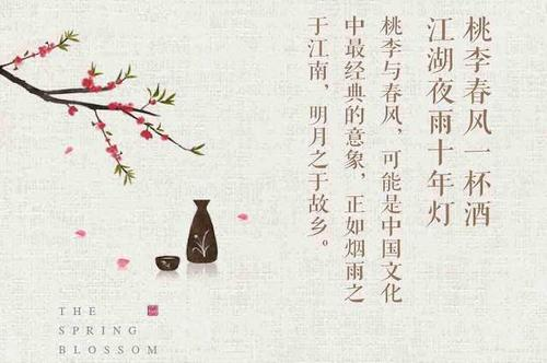 """""""桃李春风一杯酒,江湖夜雨十年灯""""是什么意思?"""