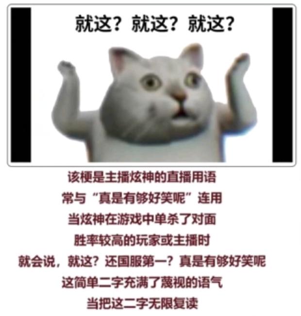 """【网络流行语】""""就这""""是什么意思?"""