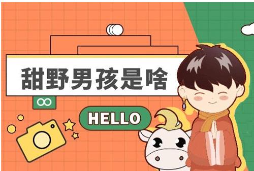 """【网络用语】""""甜野男孩""""是什么意思?"""