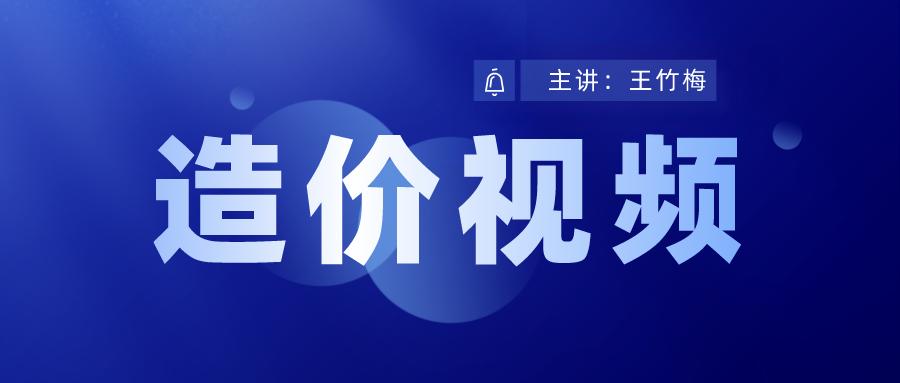 王竹梅2021年一级造价师考试视频讲解百度云